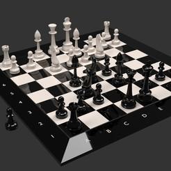 1.jpg Download STL file Chess • 3D printing model, dare990