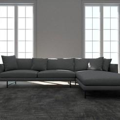 living room scene corona.jpg Télécharger fichier STL Living room  • Design imprimable en 3D, dare990