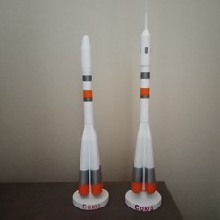 IMG_20201206_135007.jpg Télécharger fichier STL gratuit fusée SOYOUZ R7 • Modèle pour imprimante 3D, Billyboy