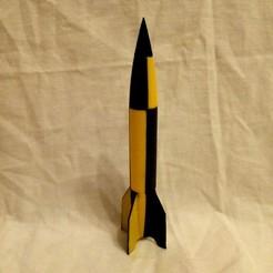 rocket v2.jpg Télécharger fichier STL gratuit fusee v2 • Modèle pour impression 3D, Billyboy