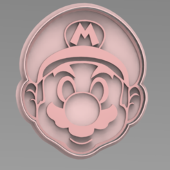 MARIO.PNG Download STL file Mario Bros. cookie cutter • Design to 3D print, ideas3djrz
