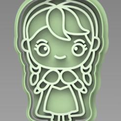 Captura.PNG Download STL file ANA FROZEN CUTTER • 3D printer template, ideas3djrz