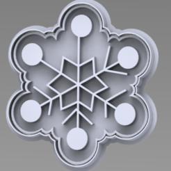 COPO.PNG Télécharger fichier STL flocon de neige coupeur de Noël • Design pour imprimante 3D, ideas3djrz