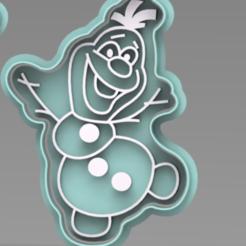 OLAF.PNG Télécharger fichier STL COUPEUR CONGELÉ DE L'OLAF • Design pour imprimante 3D, ideas3djrz