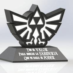 130567654_222971585953058_8516203750294721658_n.png Download free STL file Decorative Triforce Legend of Zelda Lamp • Template to 3D print, ideas3djrz