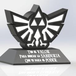 130567654_222971585953058_8516203750294721658_n.png Télécharger fichier STL gratuit Lampe Zelda : la légende de la triforce décorative • Modèle imprimable en 3D, ideas3djrz