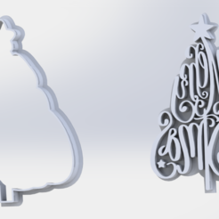 sello.PNG Download STL file cutter plus christmas tree marker • 3D printer template, ideas3djrz