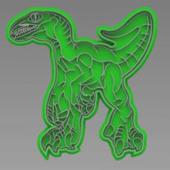 128767661_1587460308091087_4760793448946525234_n.png Download STL file CUTTER + DINOSAURUS 2 MARKER • 3D printable model, ideas3djrz