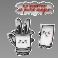 MAGIAE.jpg Download free STL file CUTTER + MAGIC MARKER • 3D printable template, ideas3djrz