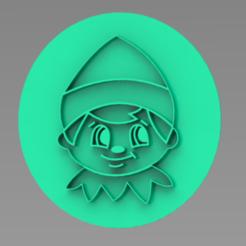 DUENDE.PNG Download STL file STAMP PLUS WATERCOLOR GOBLIN CUTTER • 3D print design, ideas3djrz