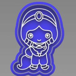 127243799_388905058983054_53916215630158264_n.png Télécharger fichier STL Coupe-biscuits au jasmin Aladin • Modèle pour impression 3D, ideas3djrz