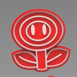 FLOR.PNG Télécharger fichier STL Coupeur de biscuits en forme de fleur de feu Mario bros • Objet pour impression 3D, ideas3djrz