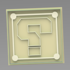 CUBO.PNG Download STL file Cookie Cutter, Cube of mario bros • 3D printing design, ideas3djrz