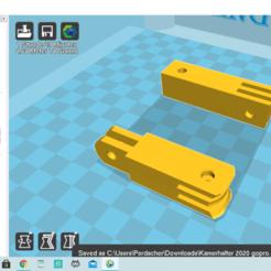Screenshot (14).png Télécharger fichier GCODE gratuit Kamerahalterung 2020 gopro et plus • Modèle à imprimer en 3D, TwittyTwitty