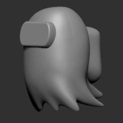 fantasma.png Download STL file Ghost Among Us Phantom • 3D printable object, valehadad