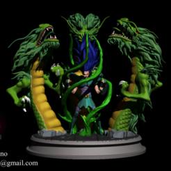 1.png Télécharger fichier STL Saint Seiya - Shiryu et la fureur du dragon • Objet imprimable en 3D, 3droachstudio