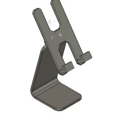 3.png Download free GCODE file ADJUSTABLE CELL PHONE HOLDER (SMARTPHONE) • 3D print design, Adportas