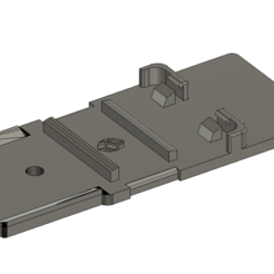 H6 1.png Download STL file Zoom H6 battery Holder • 3D printing template, Fandotec