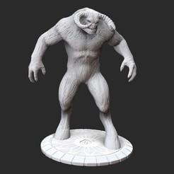 KhnumPosedWhite.jpg Download STL file Khnum Serious Sam 3 3D Model STL File 3D Print • 3D printer object, TheSTLSmith