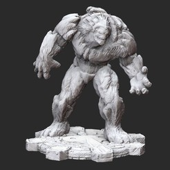 BerserkerWhite.jpg Download STL file Berserker Gears of War 3D Model STL File 3D Print • 3D printing object, TheSTLSmith
