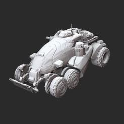COGAPCWhite.jpg Download STL file COG APC Gears of War 3D Model STL File 3D Print • 3D print design, TheSTLSmith