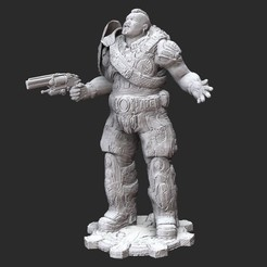 TaiG2White.jpg Download STL file Tai Kaliso Winter Gears of War 3D Model STL File 3D Print • 3D printable object, TheSTLSmith