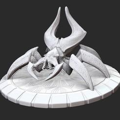 SpiderPosedWhite.jpg Download STL file Spider Serious Sam 3 3D Model STL File 3D Print • 3D printer object, TheSTLSmith