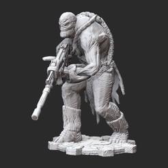 BreacherWhite.jpg Download STL file Breacher Gears of War 3D Model STL File 3D Print • 3D print model, TheSTLSmith