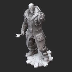 GriffinWhite.jpg Download STL file Aaron Griffin Gears of War 3D Model STL File 3D Print • 3D printing model, TheSTLSmith