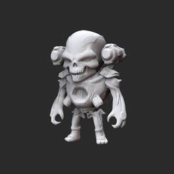 RevenantWhite.jpg Télécharger fichier STL Revenant Doom Jouet de collection • Objet imprimable en 3D, TheSTLSmith