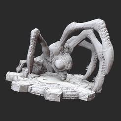 CorpserHatchlingWhite.jpg Download STL file Corpser Hatchling Gears of War 3D Model STL File 3D Print • Model to 3D print, TheSTLSmith