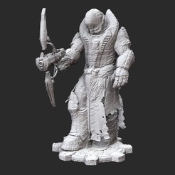 TheronGuardSentinelWhite.jpg Download STL file Theron Guard Sentinel Gears of War 3D Model STL File 3D Print • 3D print design, TheSTLSmith