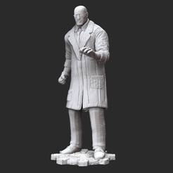AdamWhite.jpg Download STL file Adam Fenix Lab Gears of War 3D Model STL File 3D Print • 3D printer object, TheSTLSmith