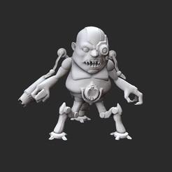 CarcassWhite.jpg Télécharger fichier STL Jouet de collection Carcass Doom • Plan à imprimer en 3D, TheSTLSmith