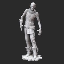 AshmanWhite.jpg Download STL file Ashman Gears of War 3D Model STL File 3D Print • Model to 3D print, TheSTLSmith
