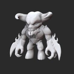 BaronWhite.jpg Télécharger fichier STL Jouet de collection Baron Doom • Objet pour imprimante 3D, TheSTLSmith