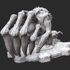 CorpserWhite.jpg Download STL file Corpser Gears of War 3D Model STL File 3D Print • 3D printable object, TheSTLSmith