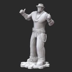 ColeCivilianWhite.jpg Download STL file Augustus Cole Civilian Gears of War 3D Model STL File 3D Print • 3D print object, TheSTLSmith