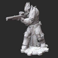 TheronPalaceGuardWhite.jpg Download STL file Theron Palace Guard Gears of War 3D Model STL File 3D Print • 3D printable template, TheSTLSmith