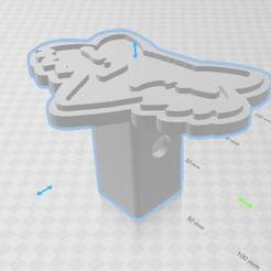 ganchera fox.JPG Download STL file fox cover • 3D printable design, luis_2