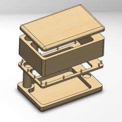 3.PNG Télécharger fichier STL Boîte à mauvaises herbes • Design pour imprimante 3D, SergiMolinaGarcia