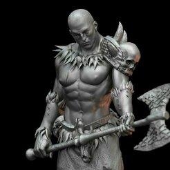 barbarian7.jpg Télécharger fichier STL Barbarian- Lor'uk (.STL & .OBJ) • Design pour impression 3D, Biophominiatures
