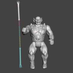 01-PANTHRO.png Download STL file FULL VINTAGE THUNDERCAST (PANTRHO) • 3D printing design, MisJuguetes