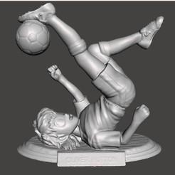 01_OLIVER.jpg Télécharger fichier STL Oliver Hutton Super Champions • Design pour impression 3D, MisJuguetes