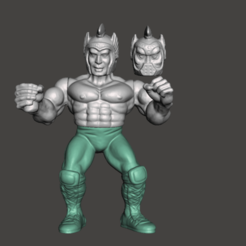 01_GALAXY_FIGHTERS.png Download STL file BOOTLEG GALAXY FIGHTER, GALAXY WARRIOR • 3D print object, MisJuguetes