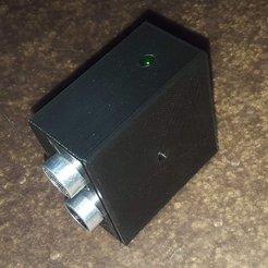 HC-SR04-00.jpg Download free STL file HC-SR04 sensor box • 3D printable design, Old-Steve