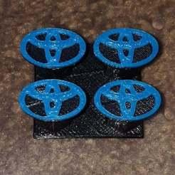 toy-cap-01.jpg Télécharger fichier STL gratuit Capuchon de tige de soupape Toyota • Plan pour imprimante 3D, Old-Steve