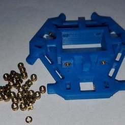 1830_effector.jpg Télécharger fichier STL gratuit 1830 : effecteur universel pour le Kossel d'Anycubic • Objet pour imprimante 3D, Old-Steve