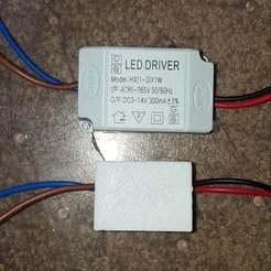 led_driver_01.jpg Télécharger fichier STL gratuit Boîtier de commande LED • Plan pour impression 3D, Old-Steve
