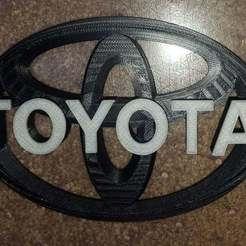 toy01.jpg Download free STL file Toyota badge combo • 3D printer template, Old-Steve